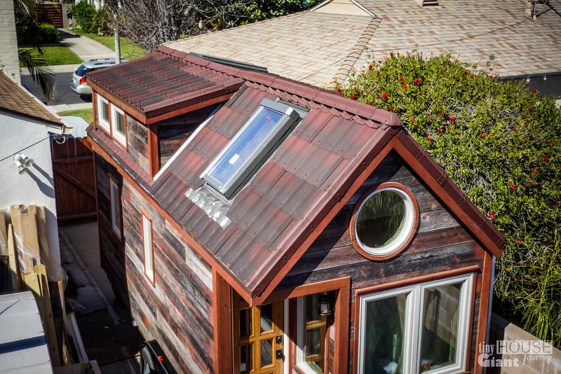 Tiny House Giant Journey Ondura Onduvilla 3D Shingles Roof   0040