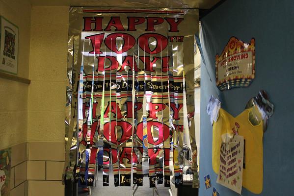 Broadway - 100 days of school 1-30-12