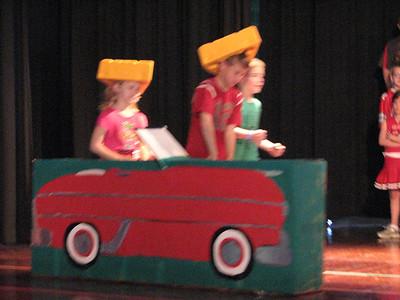 broadway 3rd grade Spring musical