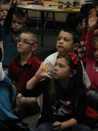 Booneshoft visits NC 1st Grade