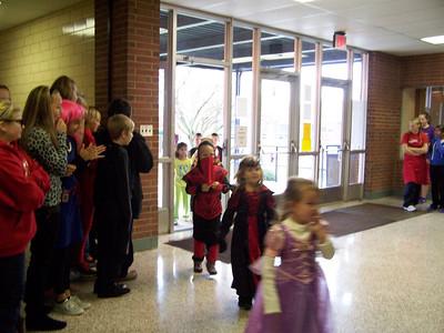 Halloween Kindergarten Parade @ TMS 12-13