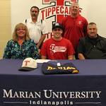 Nick Muse Signing Letter of Intent