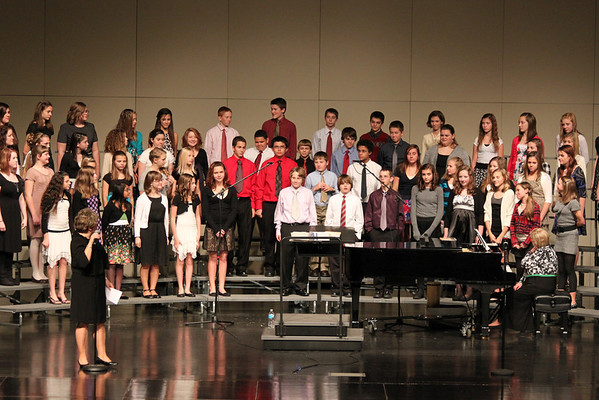 Seventh Grade Choir - Christmas 12-2011