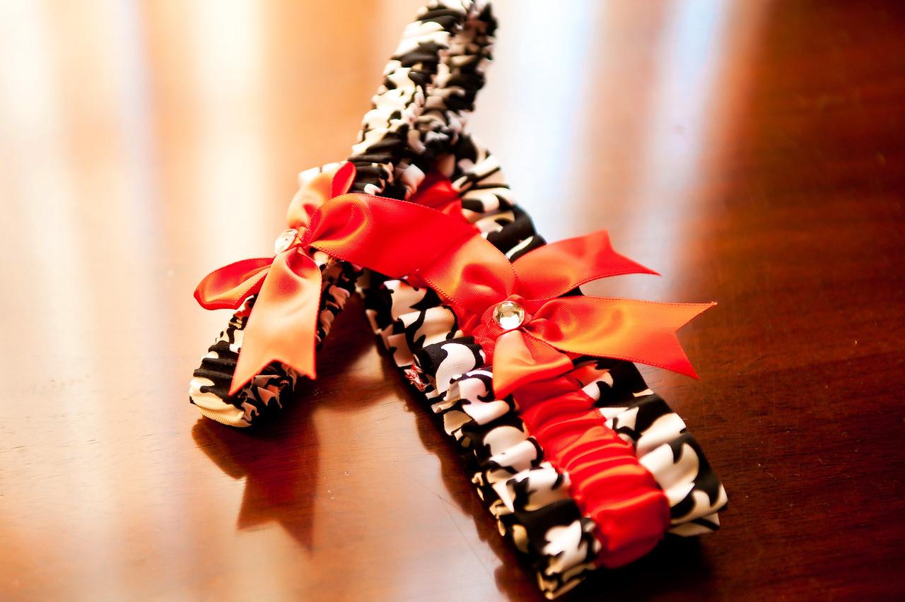 black and red garter belt; Garter Belt Wedding