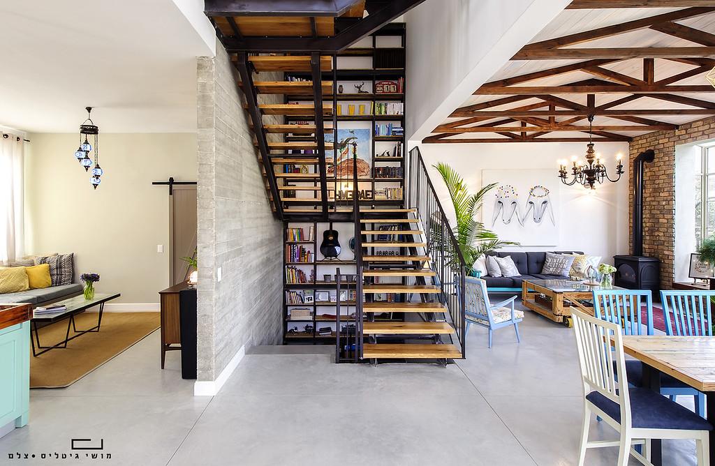 בית בפתח-תקוה. אדריכלות: קרופ אדריכלים