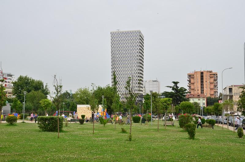 Park near Palace of Culture