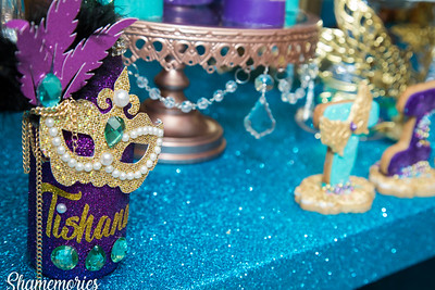 Tishana's Sweet Sixteen Decor By All About Events