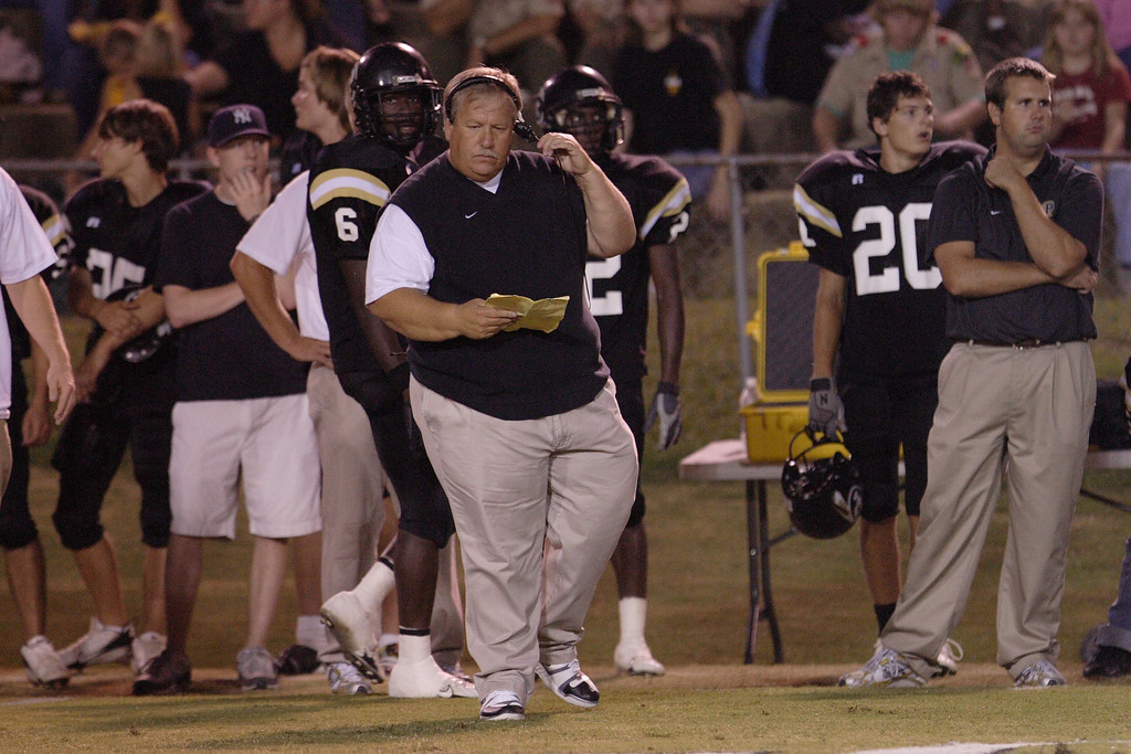 Former Brave and now Pontotoc head football coach Charlie Dampeer