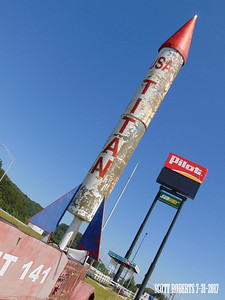 Although cool, an actual Titan missel doesn't look anything like this. Go to the Titan Missile Museum, near Tucson, Arizona if you want to see an actual Titan missile... or photo Google it.