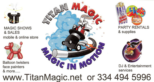 Titan Magic Shows and sales Promo