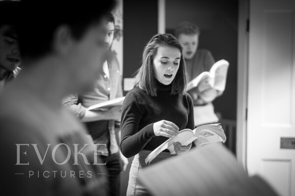 Into the Woods Rehersals