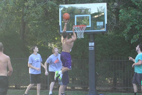Titus and Basketball Games 7-15-15