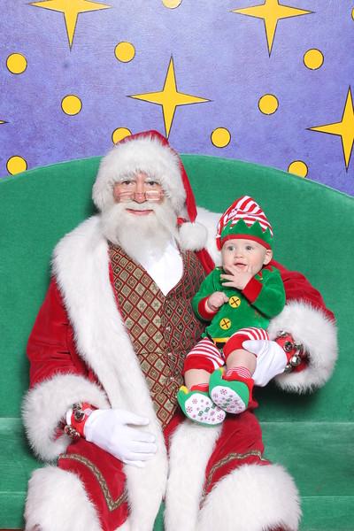 Titus with Santa Claus 12-17-15