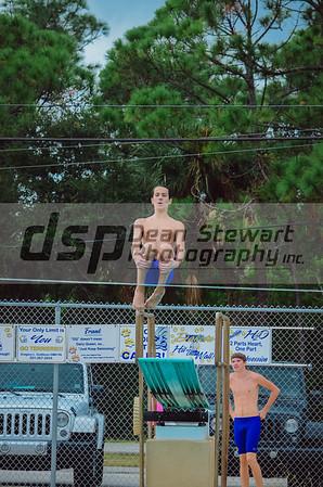 Swim and Dive vs AHS 10.4.18