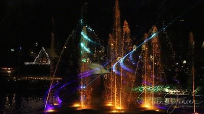Tivoli; Copenhagen; Denmark;  Illumination Show;