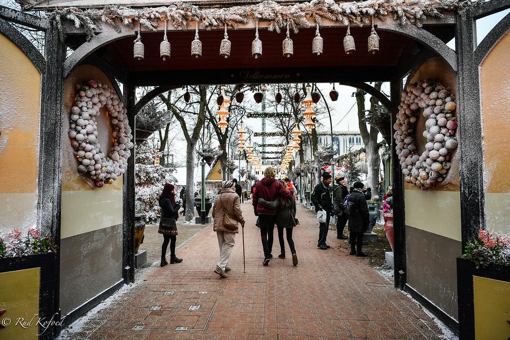 Indgangen til Tivoli-julen