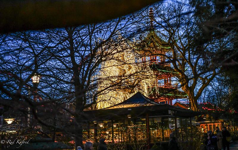 Kinesertårnet er også i julehumør
