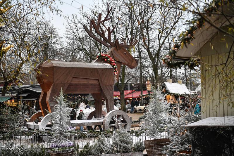 Så er der da et sted, vi får hvid jul!