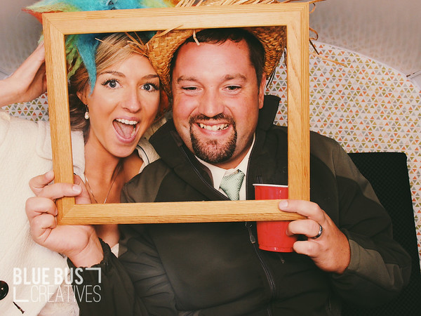 Know someone in this photo? Head over and like our Facebook page to tag and share! Congrats Tk & Adam! #PhotoSwagon #photobooth  Looking to have a photo booth or The PhotoSwagon at your next event? Send us a message or head over to www.bluebuscreatives.com for more info!