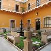 The Palacio's Formal Courtyard