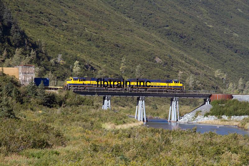 ARR2015090328 - Alaska Railroad, Bear Valley, AK, 9/2015