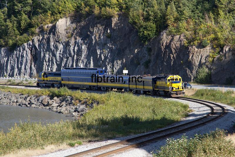 ARR2015090125 - Alaska Railroad, Bulga Point, AK, 9/2015
