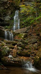 Buttermilk Falls in the Catskills