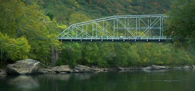 Fayetteville Station Bridge Over the New River