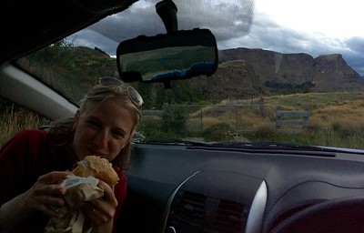 Sometimes you just need a car burger!