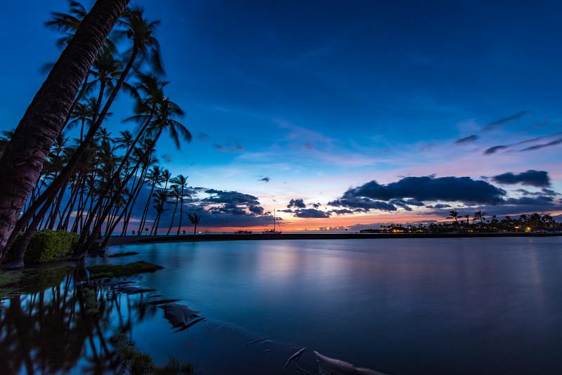Anaeho'omalu Beach, The Big Island