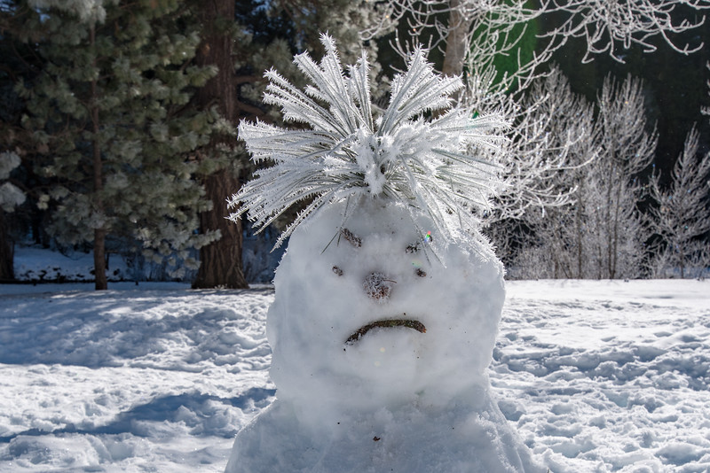 Angry Snowman