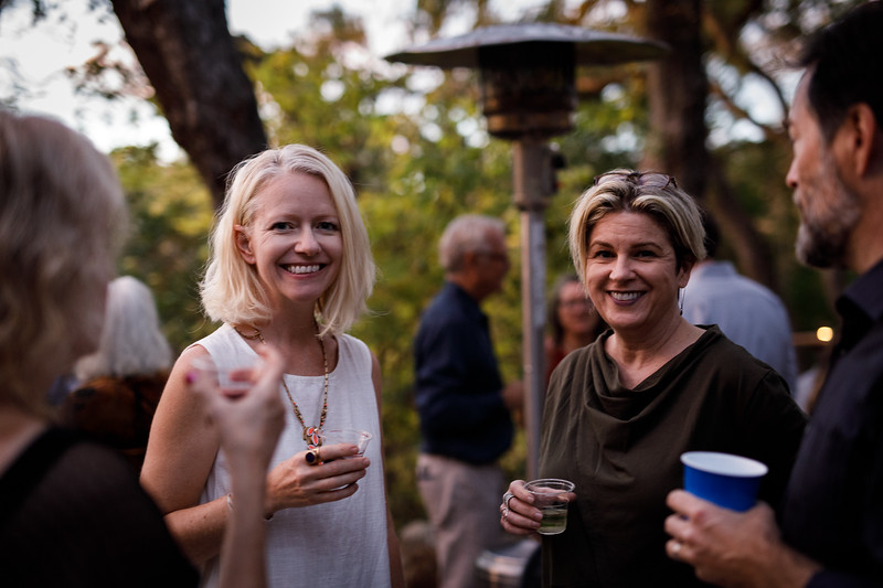 Supporters at a fundraiser for Beto O'Roarke, December 1, 2017.