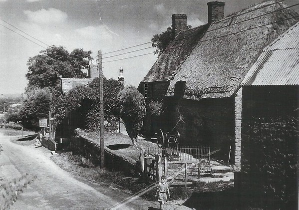 The old forge and cottage 1940`s