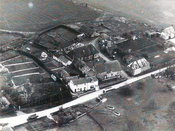 Another aerial view of Badbury