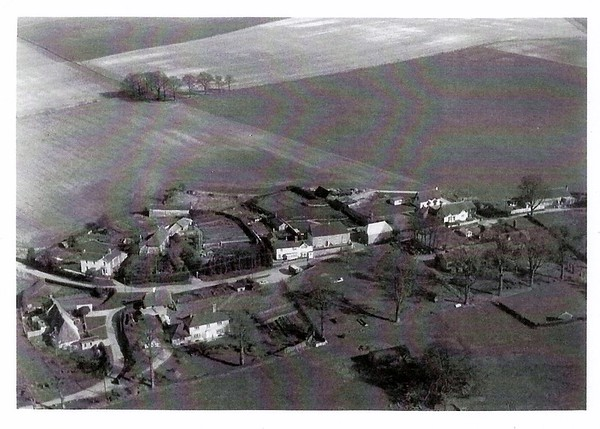 Aerial view of Badbury