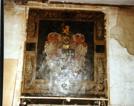 All the following pics were taken by Joan Sharpe and are early 17th century Jacobean wall paintings