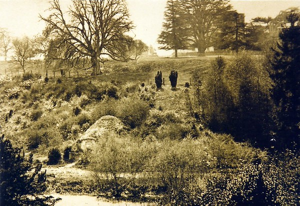 The Ice House in the Park`s grounds 1880`s