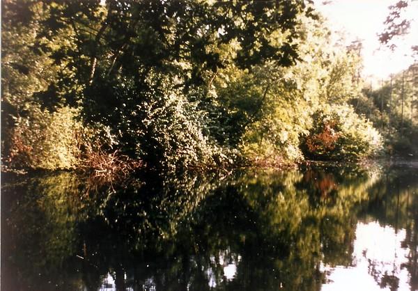 General Calley`s fishing lake 1960