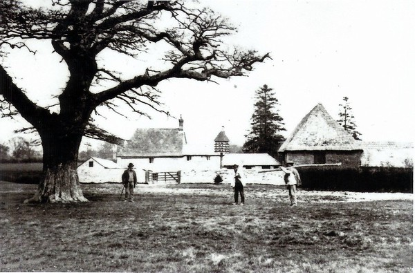 Nightingale Farm Burderop 1890`s