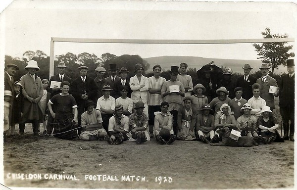 Comic football match at the Canney Field 1925