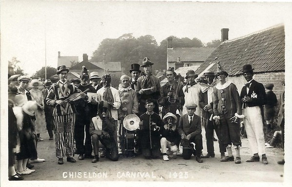 Carnival alongside the old Smithy 1925