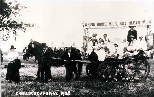 Drink More Milk float 1925