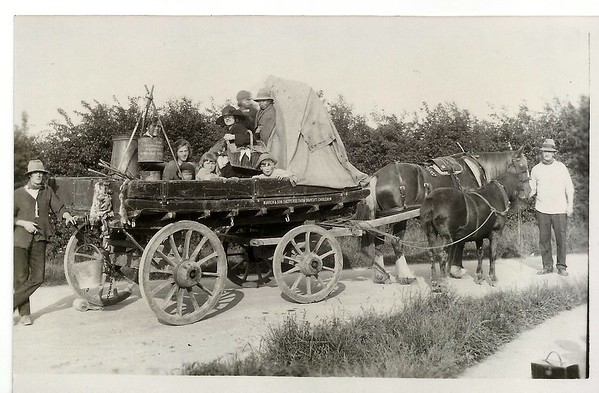 Shepherds farm float 1921