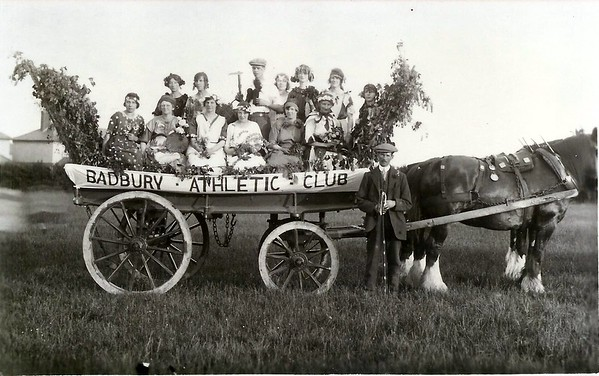 Badbury Athletic Club 1924