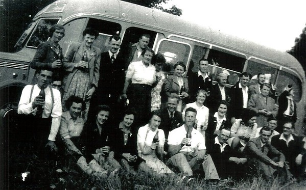 British Legion outing 1940`s