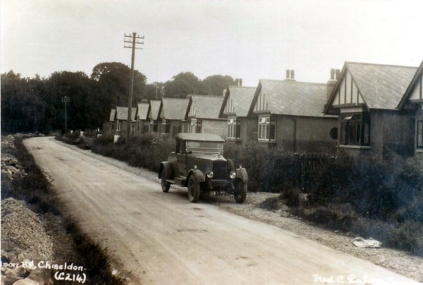 This is a Fred Palmer shot of Hodson road but there is no date