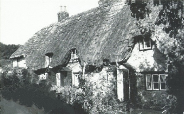Cottages in the Canney 1950`s