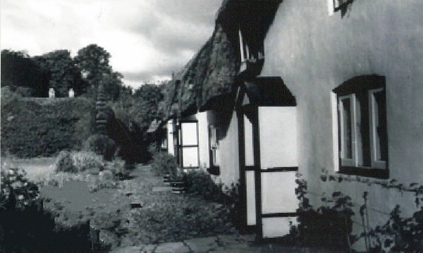 Cottages round the Canney 1950`s