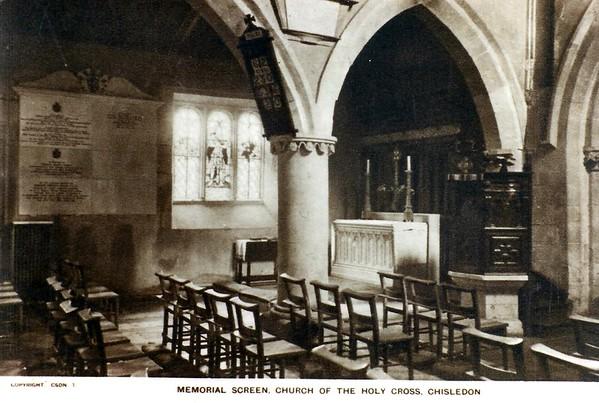 Chisedon church 1950`s