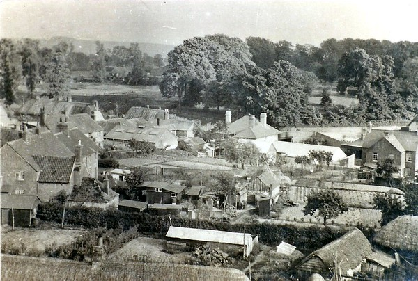 View from the church tower circa 1900